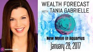 Your Aquarius New Moon Wealth Forecast (Jan 28, 2017)
