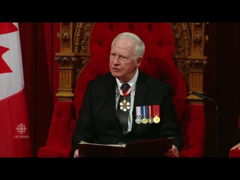 First Throne Speech of Canada