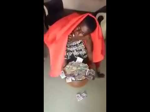 Ghana Sakawa Boy Vomiting Money