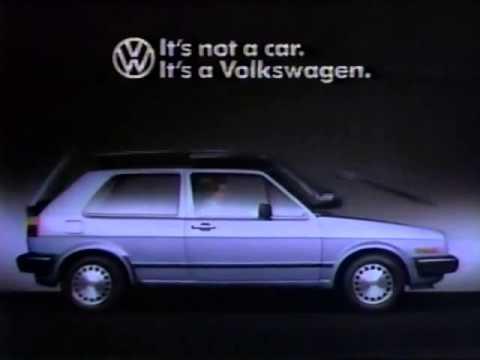 Commercial - Volkswagen Golf (1986)