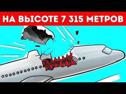 Самолет потерял крышу на высоте 7 315 м, но пилоту удалось приземлиться
