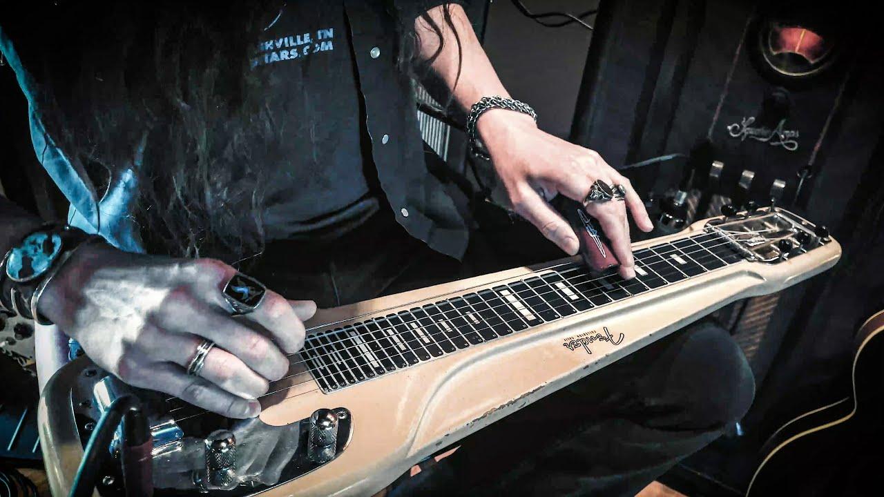 "Dark Swamp Blues on Haunted Fender Lap Steel • ""Spanish Moss"""