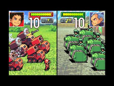 Advance Wars Gameplay - No Commentary