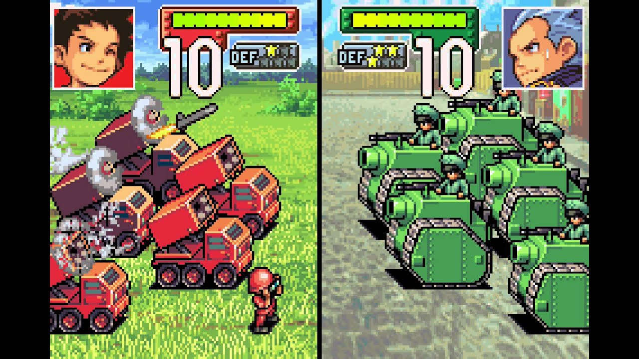 Advance Wars Gameplay No Commentary Youtube
