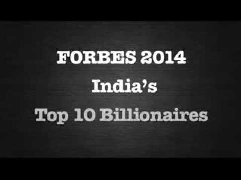Forbes India: India's Top 10 billionaires
