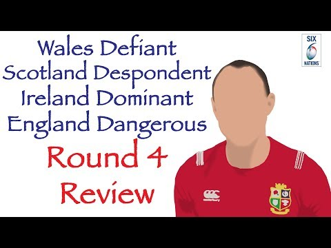 6 Nations 2019 Round 4 Analysis- Wales Defiant, Scotland Despondent, Ireland Dominant, England Dange