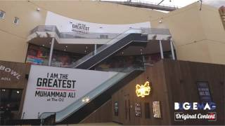 I AM THE GREATEST - MUHAMMAD ALI EXHIBITION - LONDON O2
