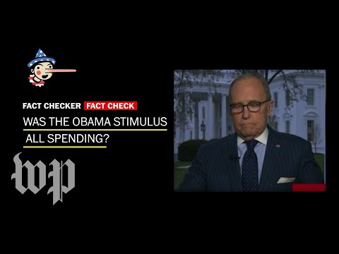 Fact Check: Was the Obama stimulus 'all spending'?