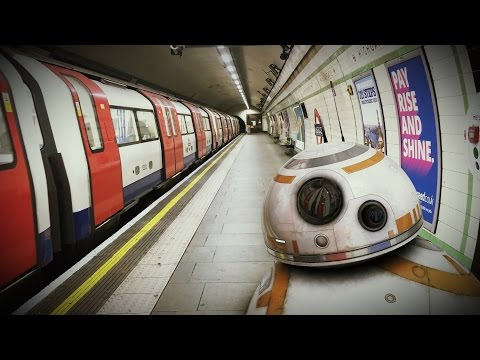 After Effects Camera Tracking Tutorial - BB8 on the Underground - After Effects Tutorial