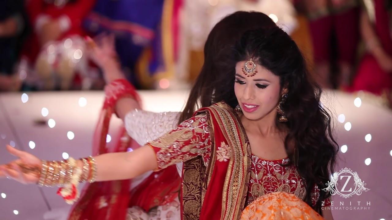 Mehndi S For Wedding Dance : Hira and sid wedding best mehndi dance at the river