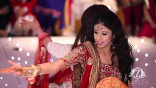 HIRA and SID Wedding best Mehndi Dance 2013 at the RIVER ROOM