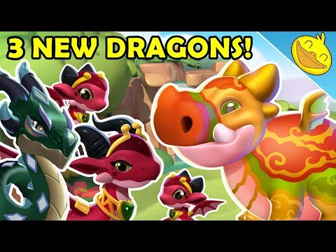 3 NEW DRAGONS! PIGSY, JADE & LILITH! Upcoming Castle Event Reward Dragons! - DML