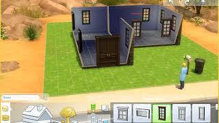 Как построить маленький уютный дом в The sims 4 если бюджет семьи равен 17 000!