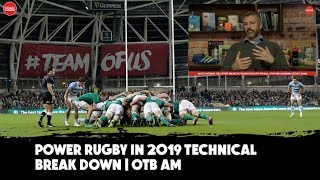 Seven types of strength in rugby | Scrummaging and MMA | Emmet Byrne's technical break down