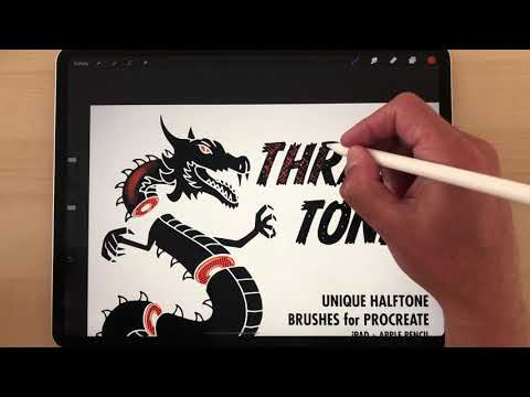 Drawing T Shirt Designs With Procreate App For Ipad Pro Youtube