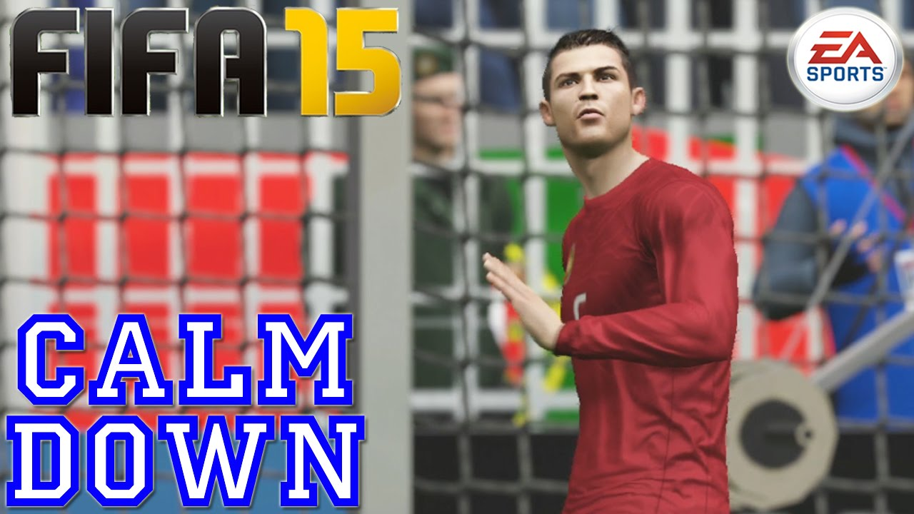 Ronaldo Calm Down :: EASFC Celebration (Tutorial) :: FIFA 15 [PS4 / Xbox  ONE] ᴴᴰ