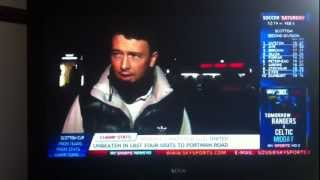 Funny Sky Sports News Interview