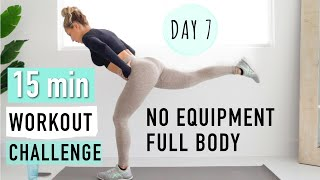 DAY 7 of the 7 DAY WORKOUT CHALLENGE!!! Let's do this!