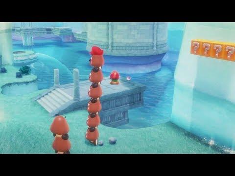 Super Mario Odyssey Gameplay Part 3 - Lake Kingdom (Nintendo Switch)