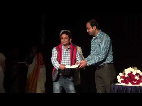 Indore artists receiving awards - 8