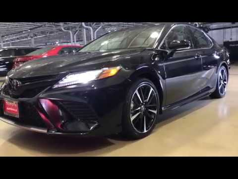 all new camry 2018 black kijang innova tipe q toyota xse in and red interior ready for delivery