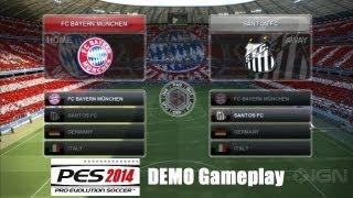 PES 2014 DEMO GamePlay (Muestra) -  Juego a un 75% (Ya Estamos Casi Listos)