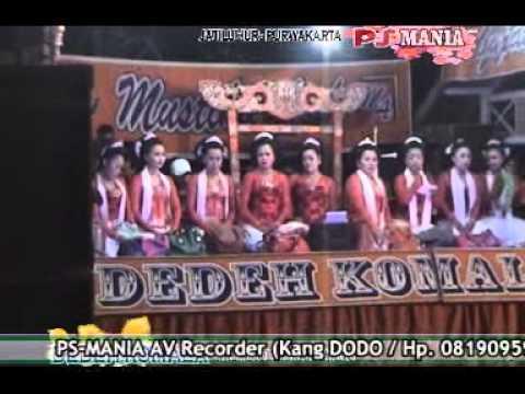 PS Mania Purwakarta Jaipong DEDEH KOMALA Group GEBOY Pagadungan Sukasari 30 Jun 2013
