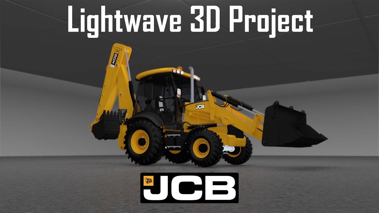 Lightwave JCB project