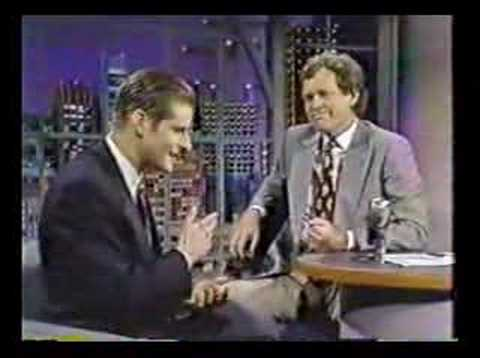 Crispin Glover on Letterman 1990
