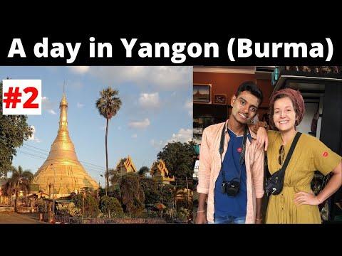 A Day in Yangon (Rangoon) || Kandawgyi Lake