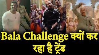 Ranveer Singh, Aayushman Khurrana CRAZY Dance Video on Bala Bala Shaitaan ka saala | Husefull 4
