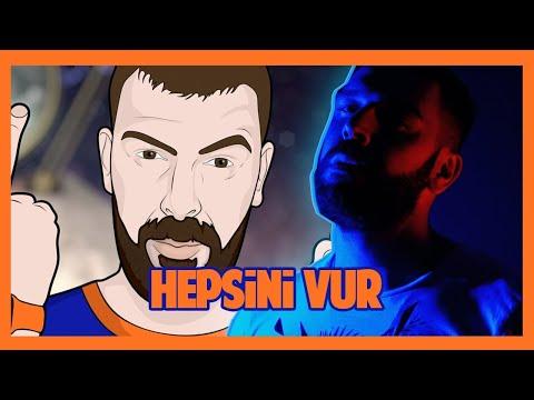 Смотреть клип Tankurt Manas - Hepsini Vur