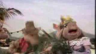 Muppet Show. Kermit, Piggy and the Pigs - Pigs Calypso