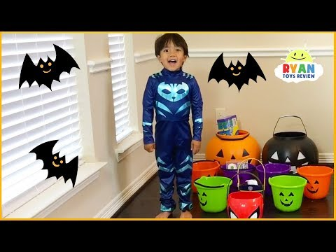 Trick Or Treat Halloween Carnival Games For Kids!!!