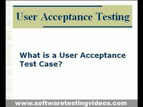 User Acceptance Testing In Software Testing Projects - Youtube
