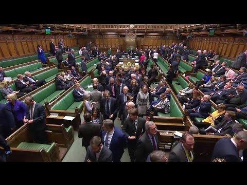 UK House of Commons debate European Union withdrawal bill