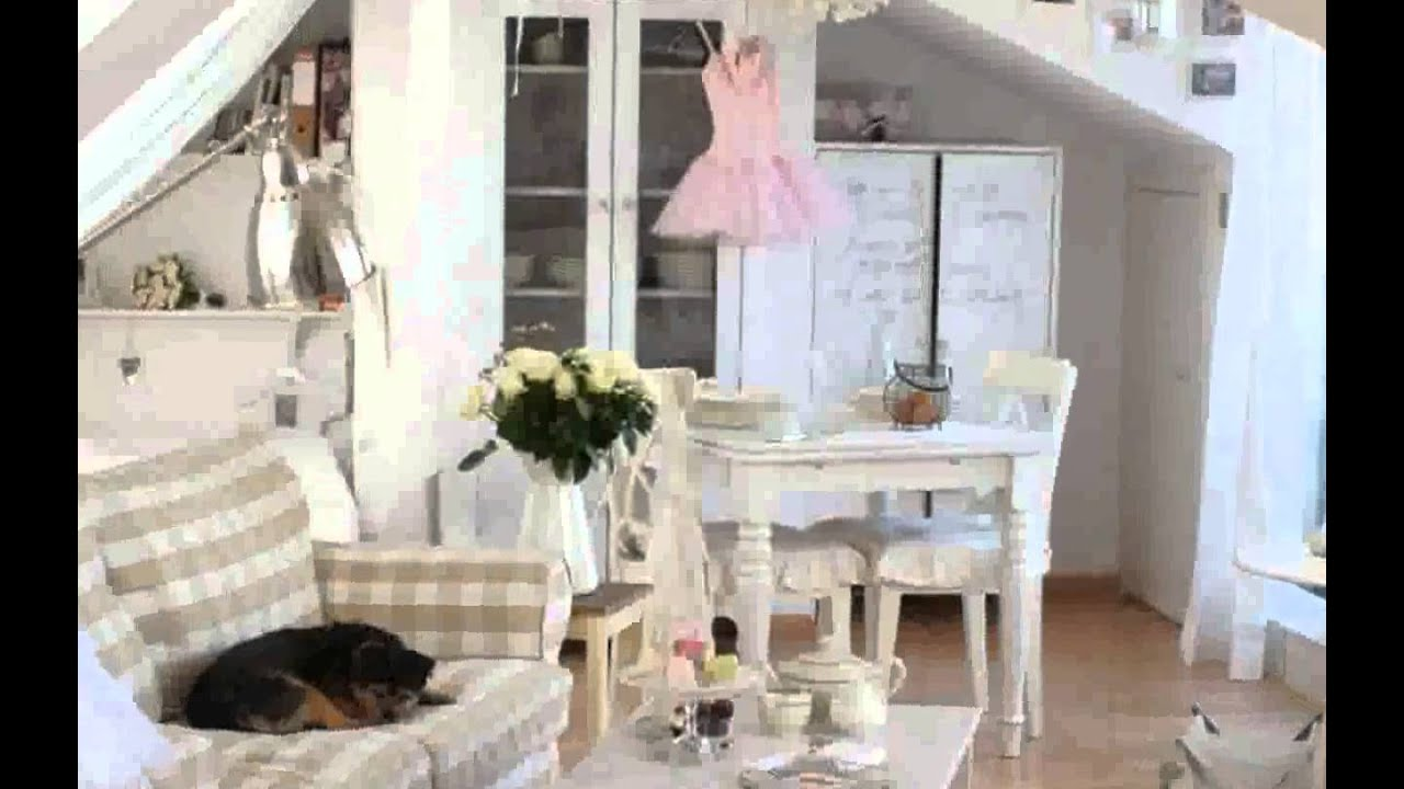 einrichtungsstil shabby chic bilder youtube. Black Bedroom Furniture Sets. Home Design Ideas