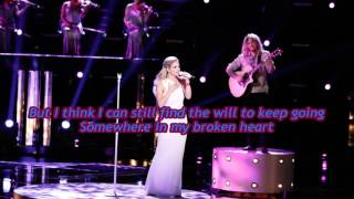 Play Somewhere In My Broken Heart - The Voice Performance