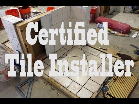 Certified Tile Installer Test - YouTube
