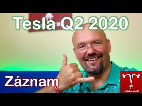 #206 Tesla 2020 Q2 Výsledky | Teslacek
