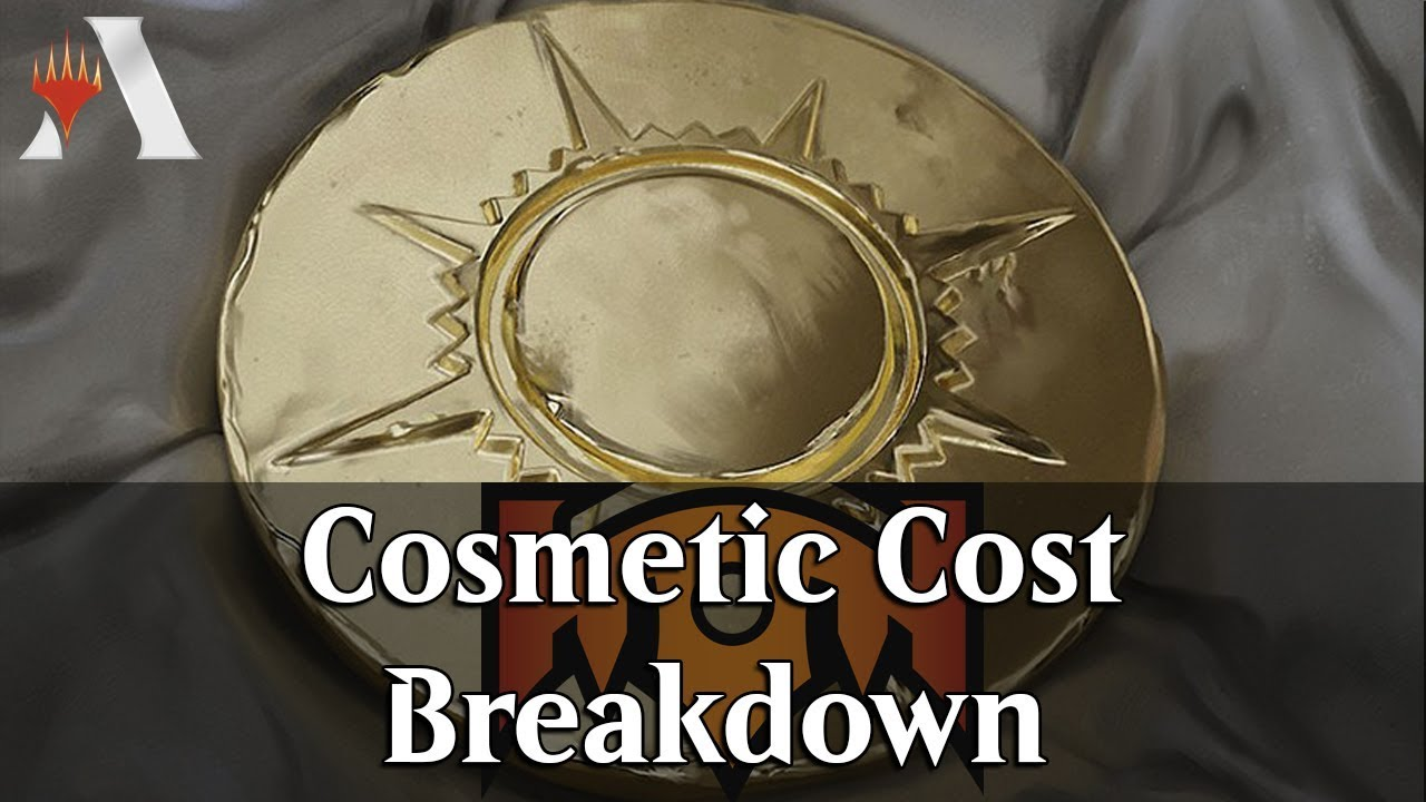 MTG Arena Info | Breakdown of Cosmetic Cost and Total [Bling]