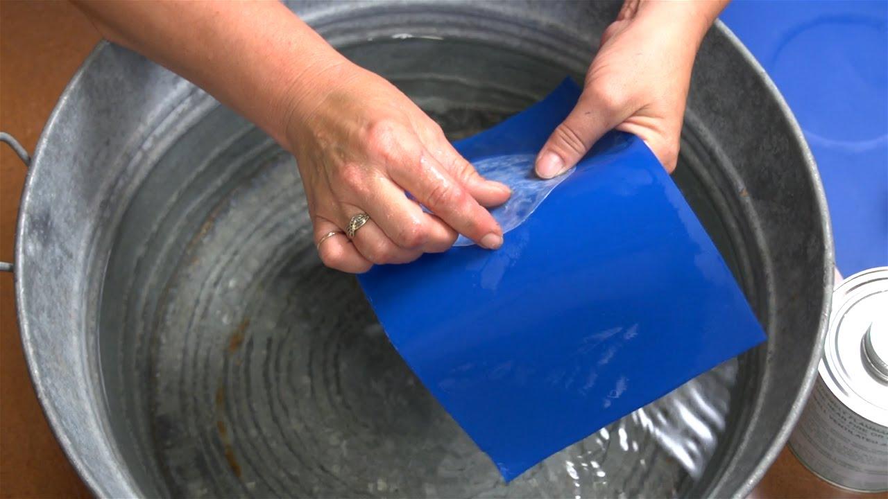 Hh 66 Vinyl Cement Using Underwater Youtube