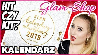 Otwieram KALENDARZ Glam Shop