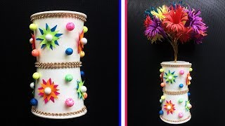 Gambar cover DIY Flower Pot out of Disposable Paper Cup / Best Out Of Waste Idea / Amazing craft out of waste