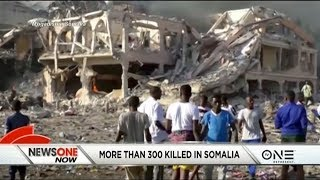 Death Toll In Somalian Bombing Climbs To 300