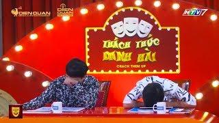 """Hari Won Nhã Phương bất ngờ trợ diễn làm Trường Giang Trấn Thành """"toát mồ hôi"""" ở Thách Thức Danh Hài"""