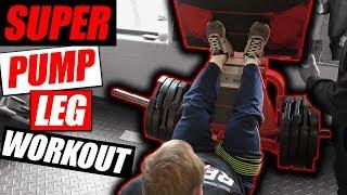 Massive Quad Pump Workout | Blood Flow Restriction Workout
