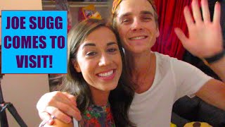 JOE SUGG COMES TO VISIT! Vlogmas 10