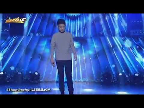 """Darren Espanto Sings """"HALO"""" by Beyonce on It's Showtime."""