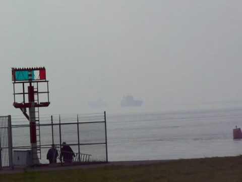 Port of Antwerp seen from Bath (Holland)2